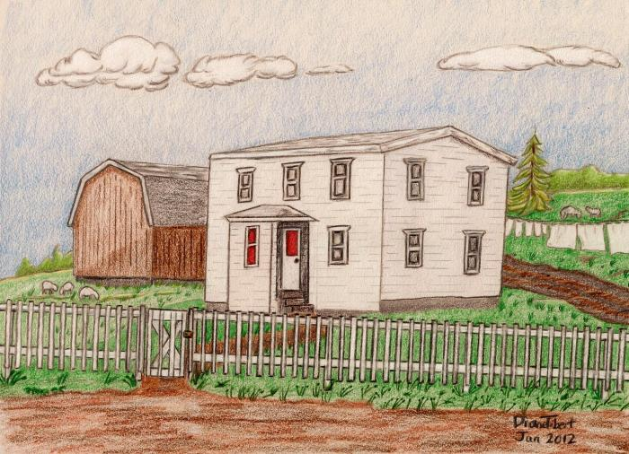 Appleby Home, Lewin's Cove, NL 1930s