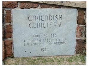 Cavendish Cemetery, PEI
