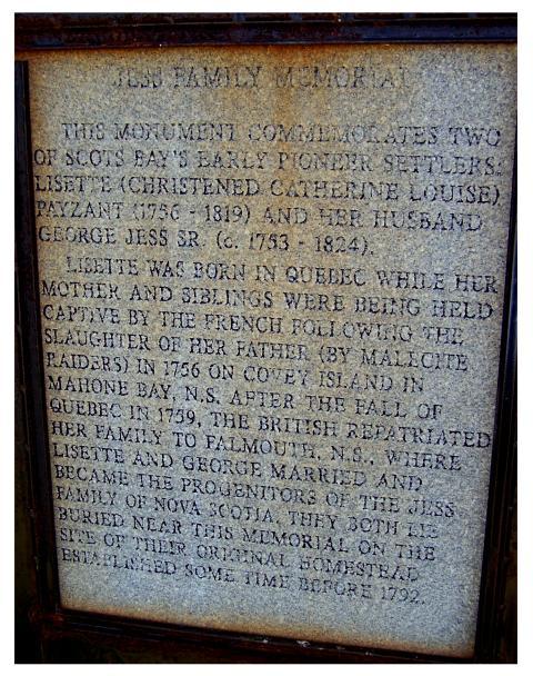 Jess Family Memorial