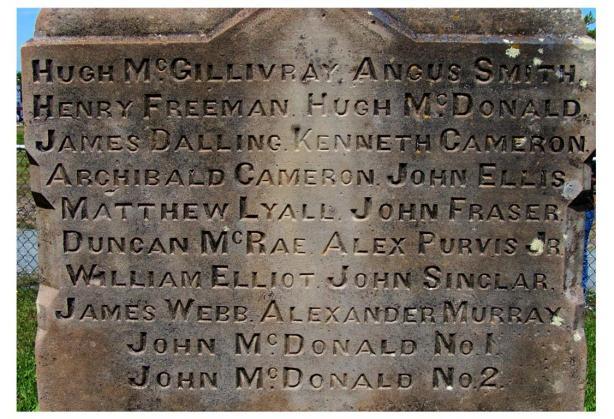 Westville Miners Memorial