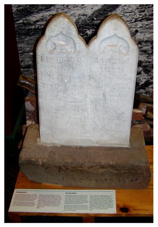 Moxon children headstone