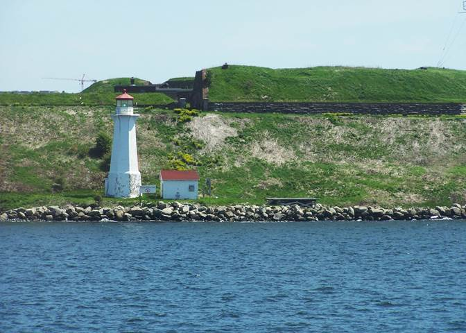 Georges Island Lighthouse Halifax