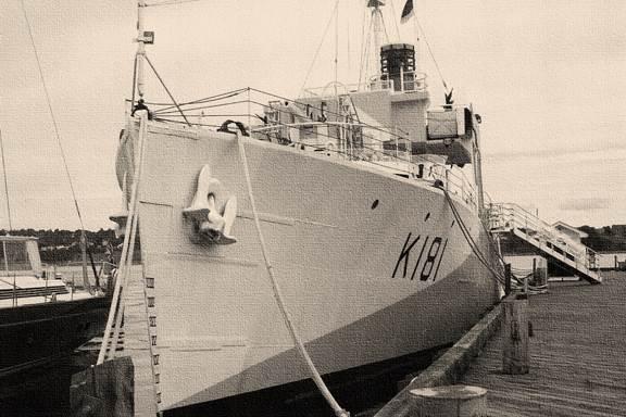 HMCS Sackville at Port Halifax