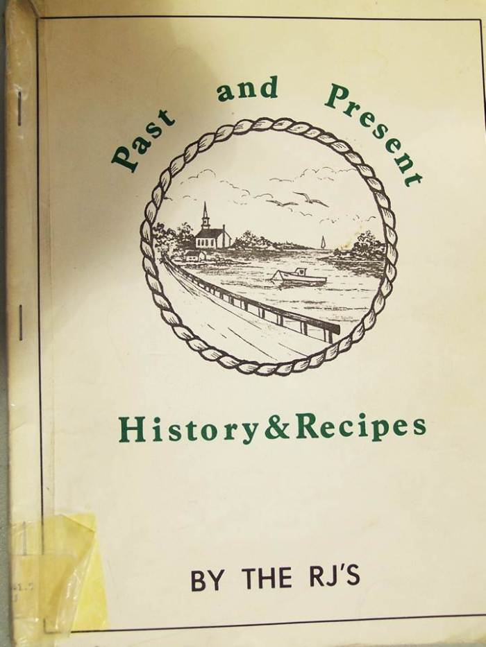 Past and Present History - Recipes by the RJs cover
