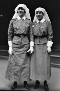 Nursing Sisters Blott and Parkins